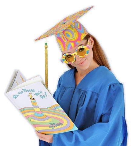 elope Dr. Seuss Graduation Cap]()