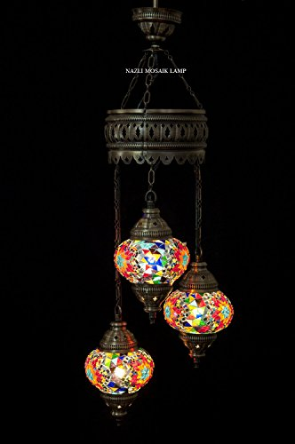 Mosaic Chandelier,Mosaic Lamp,Turkish Lamp,Moroccan Lantern