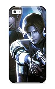 Diy iphone 5 5s case Awesome Case Cover/iPhone 5 5S Defender Case Cover(resident Evil)