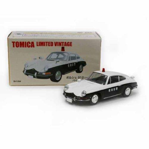 1/64 ポルシェ 912 1967年式 パトロールカー 愛知県警(ブラック×ホワイト) 「トミカリミテッドヴィンテージ」 トミカショップオリジナル 226246