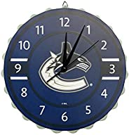 Vancouver Canucks NHL Bottle Cap Wall Clock