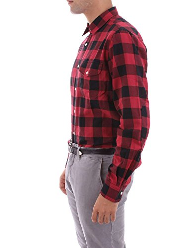 Woolrich Shirt Rosso Xl Camicia Logger SfqSw0Oz