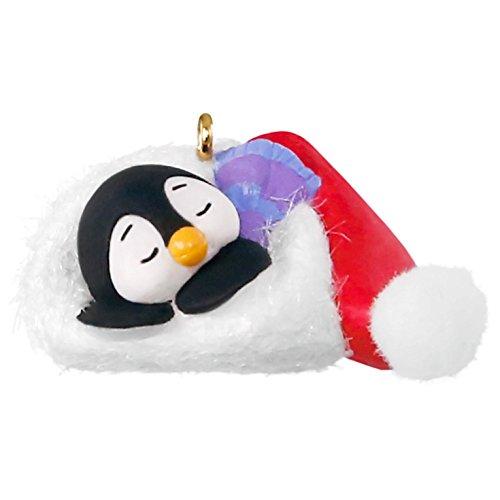 Hallmark Keepsake 2017 Petite Penguins A Short Snooze Mini Christmas Ornament