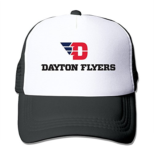 Black HGLENice Dayton Flyers Unisex Adjustable Baseball Cap One - Jessica Clothes Biel