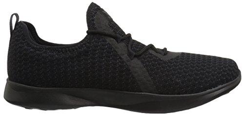 Skechers Zapatillas black Sin Mujer Bbk Negro Cordones tranquility Serene Para frEx87qfw