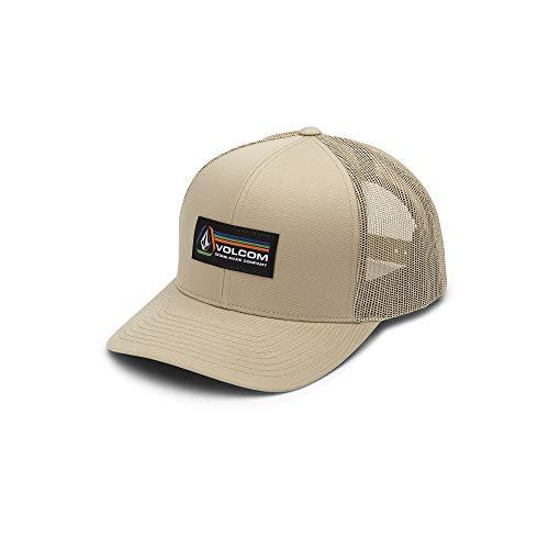 Volcom Men's Volhorizons Six Panel Xfit Hat, Dull Gold One Size Fits All