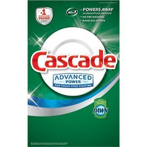 Cascade Advanced Power Dishwasher Powder with Dawn 155 Oz  9