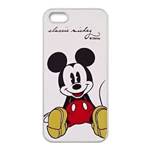 Mickey Mouse Hard Plastic Back Case Cover for Apple iPhone 5 5S-TOC-4