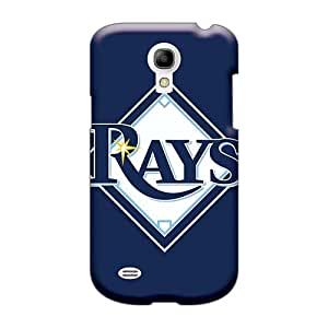 Shock Absorption Hard Phone Cases For Samsung Galaxy S4 Mini With Allow Personal Design Attractive Baseball Tampa Bay Rays 1 Image RobAmarook