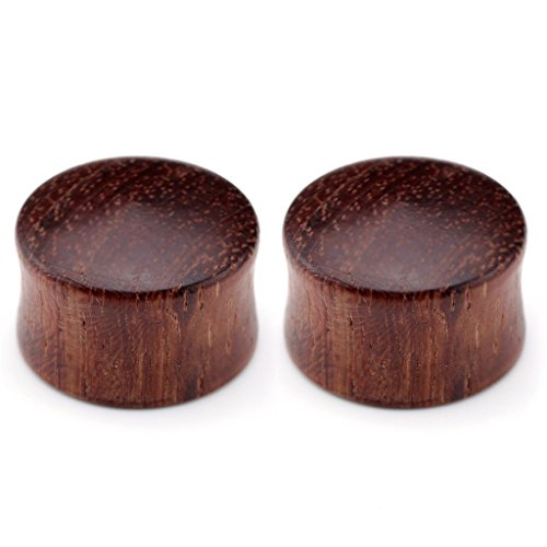 piercingj-2-14pcs-0g-3-4-8mm-20mm-natural-organic-sono-wood-doule-flared-saddle-plug-gauge-ear-stret