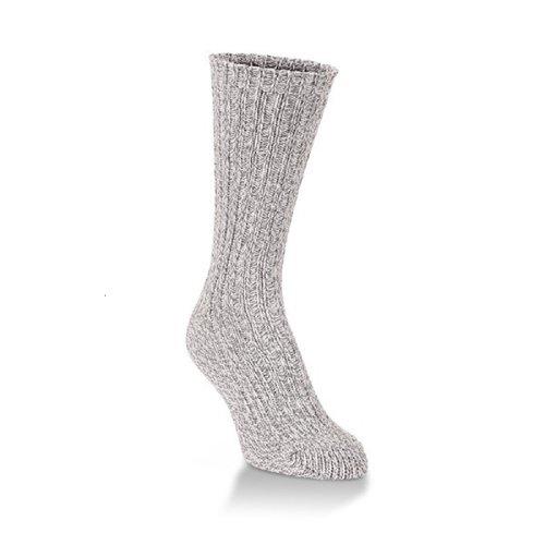 World's Softest Ragg Collection Crew Women's Socks (White)