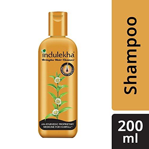 Indulekha Bringha Anti Hair Fall Shampoo (Hair Cleanser) 200ml, 6.76 oz