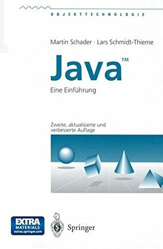 Java: Eine Einführung (Objekttechnologie)