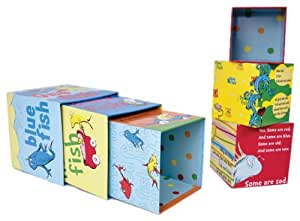 Manhattan Toy Dr. Seuss One Fish Stacking Blocks Toddler Toy