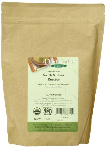Davidson's Tea Bulk, Organic South African Rooibos, 16-Ounce Bag
