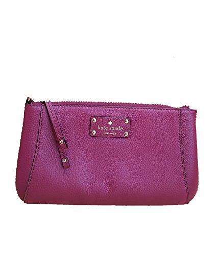 - Kate Spade Berkshire Road Adela Leather Shoulder Bag (One Size, Red Plum (578))