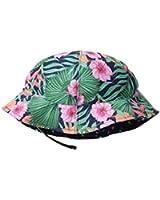 San Diego Hat Company Girl's Reversible 4 Panel Bucket Hat