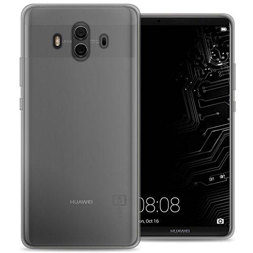 CoverON Slim Fit TPU Rubber FlexGuard Series for Huawei Mate 10 Case, Clear