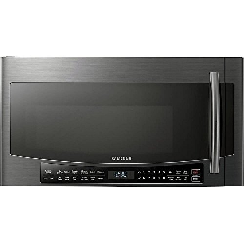 Samsung Black Stainless Steel Over-The-Range Convection Microwave