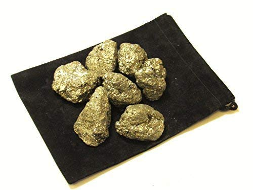 Zentron Crystal Collection: Half Pound Natural Rough Pyrite Fools Gold 1
