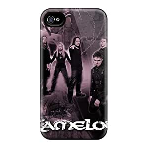 Shock Absorption Hard Phone Case For Iphone 4/4s (LjO20431nIHc) Support Personal Customs Beautiful Kamelot Band Pictures