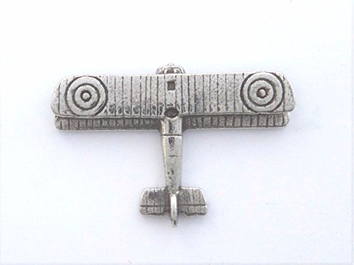 WW1 Great War Sopwith 'Pup' Biplane - Hand Made in Polished English Pewter (Plane Pewter)
