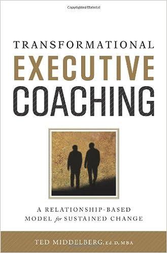Amazon.com: Transformational Executive Coaching ...