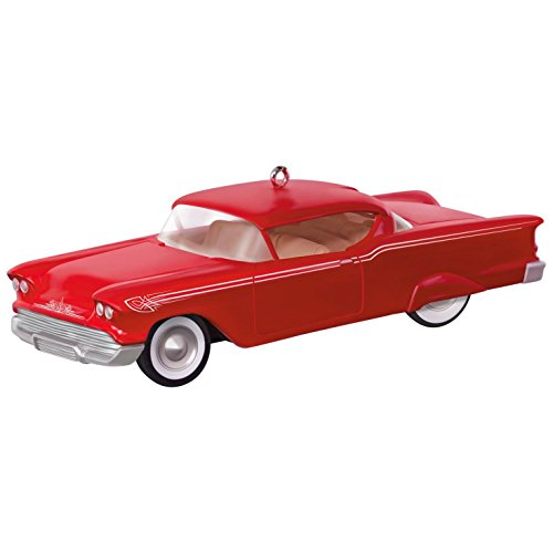 Chevy Impala Coupe (Hallmark Keepsake 2017 Keepsake Kustoms 1958 Chevrolet Impala Dated Christmas Ornament)