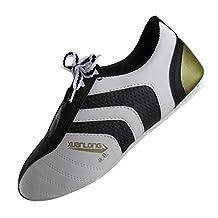 Bininbox Taekwondo Shoes Black Stripes Sneakers Karate Martial Training Shoes