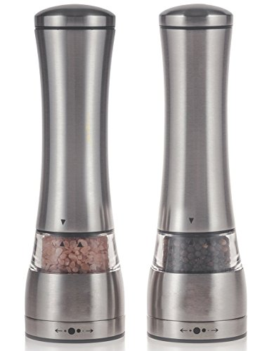 Uarter Pepper Grinder Adjustable Stainless product image