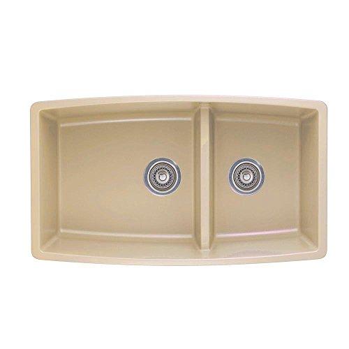 Blanco 441314 Performa 1.75 Medium Bowl Sink, Biscotti