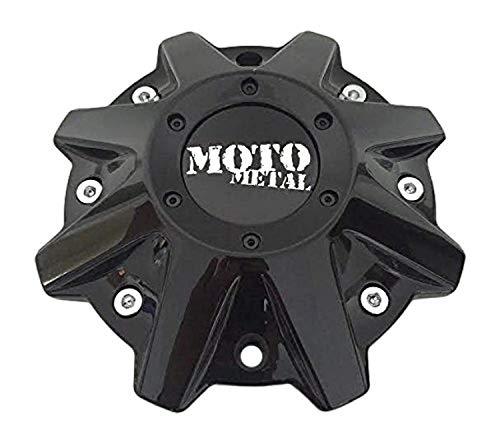 Moto Metal Wheels MO479L214GBO MO 497L214 Gloss Black Center Cap (Mo951 Moto Metal)