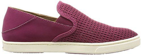 Olukai Mujeres Pehuea Slip On, Pokeberry / Pokeberry, Us 8 M