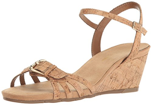 A2 by Aerosoles Womens Crumb Cake Wedge Sandal