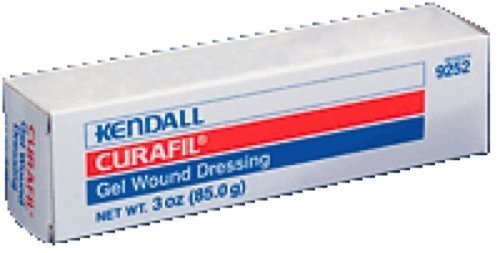 Kendall Healthcare Curafil Hydrogel Wound Dressing 3Oz Clear Amorphous, High Moisture Content (1 ()