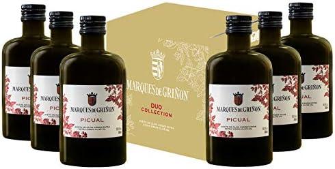 Marqués de Griñón Aceite De Oliva Virgen Extra Picual Pack de 6 botellas x 500 ml