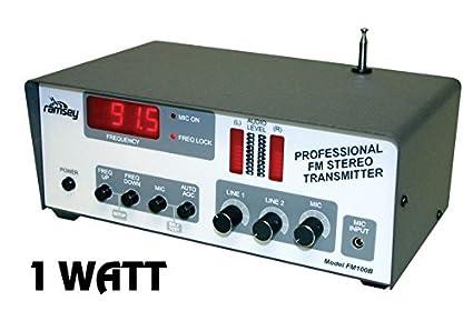 amazon com super pro fm stereo radio station 1 watt kit electronics rh amazon com