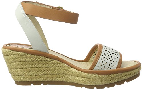Fly London Dames Ekal969fly Leren Sandalen Wit
