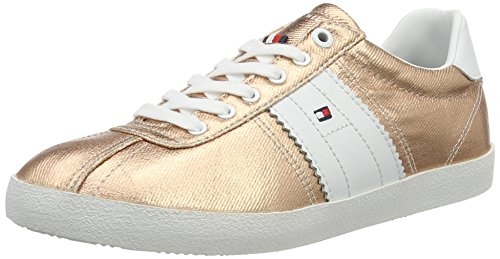 Tommy Hilfiger L1285izzie 1d1, Zapatillas para Mujer Rosa (Rose Gold)