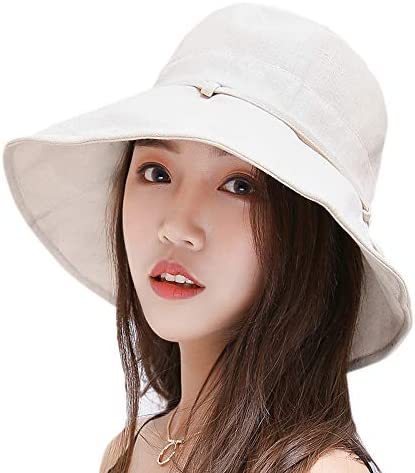 Rarendo 日よけ帽子 レディース uvカット 折りたたみ ハット つば広 女優帽子 おしゃれ 紫外線対策 熱中症予防 あご紐 リボン 可愛い 夏 小顔 旅行