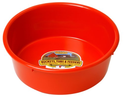 - Miller Manufacturing P-5-RED 5-Quart Plastic Utility Pans, Red