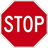 STOP Signs - 24x24 - 3M Engineer Grade Prismatic Reflective Street Legal STOP Signs