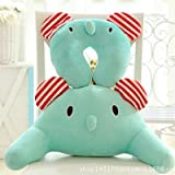 Blue Stones Cartoon type U cervical vertebra pillow Lovely animal waist rest pillow