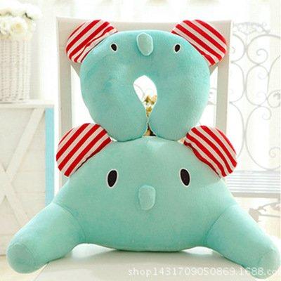 Blue Stones Cartoon type U cervical vertebra pillow Lovely animal waist rest pillow