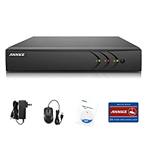 ANNKE 8CH 5-in-1 1080P Lite Security Standalone DVR H.264+ HDMI Output, Quick QR Code Scan and Easy Remote View for Home Security Surveillance Camera System