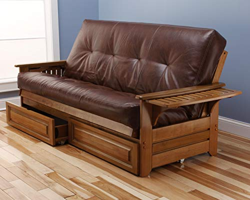 Kodiak Furniture KFPHDBBOTSLF5MD4 Futon Set, Full ()