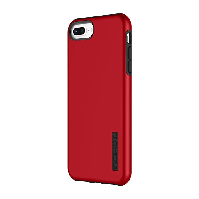 sale retailer 6c648 44be7 Incipio DualPro iPhone 8 Plus & iPhone 7/6/6s Plus Case with  Shock-Absorbing Inner Core & Protective Outer Shell for iPhone 8 Plus &  iPhone 7/6/6s ...