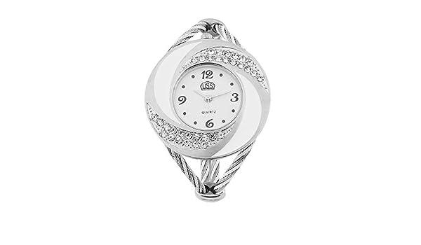 WEIWEITOE-ES Reloj de Pulsera analógico Digital para Mujer ...