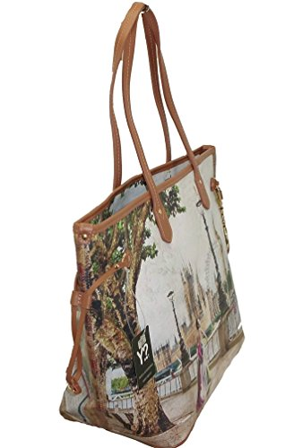 BORSA YNOT H356 NEW SHOPPING GRANDE MANICI IN PELLE сумка LONDON