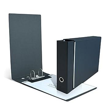 Clam archivador Horizontal para hojas y sobres A3 Nel tamaño máximo cm 30, 5 x 42. Paso 8 cm, mecanismo de palanca con funda: Amazon.es: Oficina y papelería